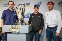 Championship contenders press conference: Jimmie Johnson, Hendrick Motorsports Chevrolet, Matt Kenseth, Joe Gibbs Racing Toyota and Kevin Harvick, Richard Childress Racing Chevrolet