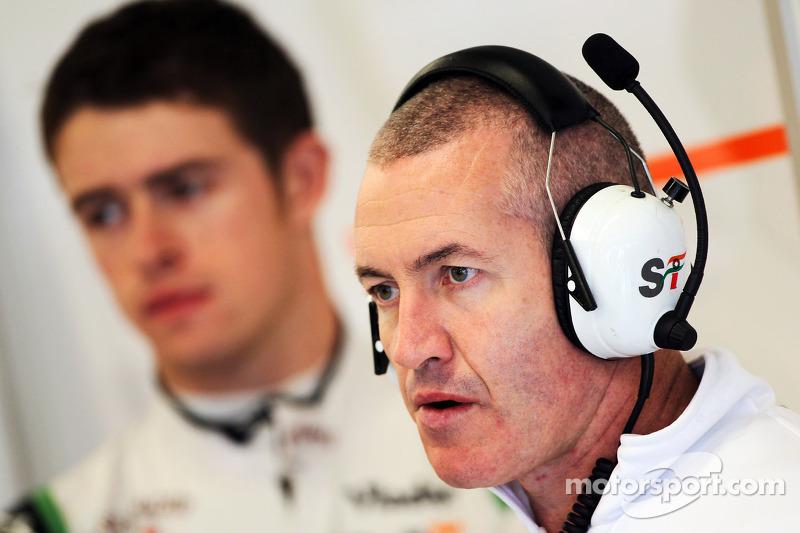 Gerry Convy, Personal Trainer of Paul di Resta, Sahara Force India F1