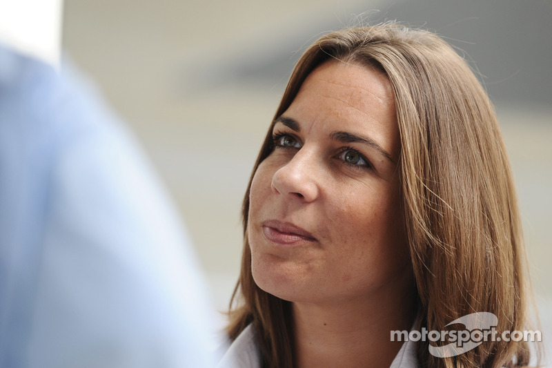 Claire Williams, adjunt-teambaas Williams F1 Team