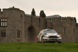 Elfyn Evans en Daniel Barrit, Ford Fiesta R5