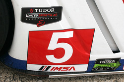 New, 0ld Logo's on the #5 Action Express Racing Corvette DP: Joao Barbosa, Christian Fittipaldi