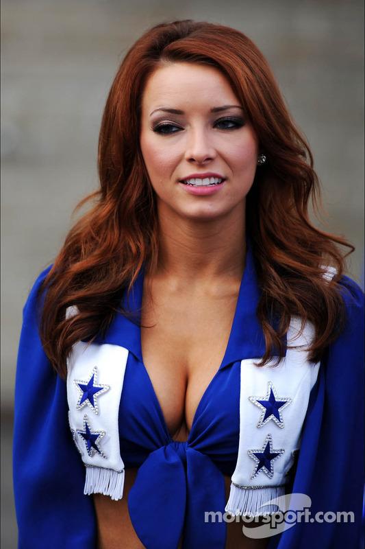 cheerleader do Dallas Cowboys
