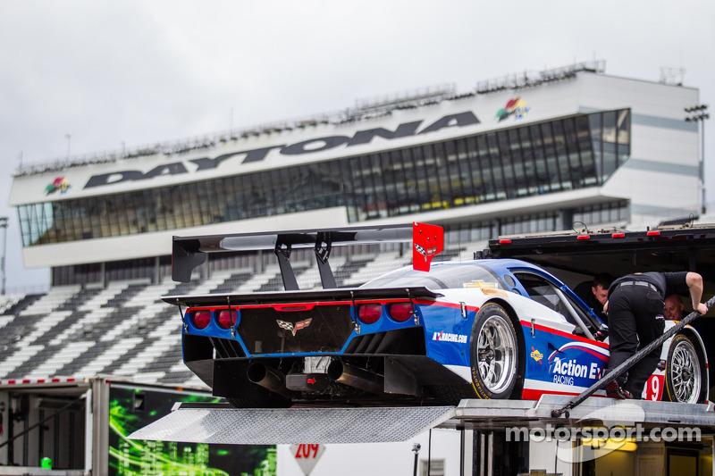 Action Express Racing verlaat het circuit