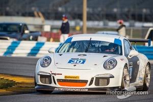 #30 NGT Motorsport Porsche GT America: Henrique Cisneros, Kuba Giermaziak, Christina Nielsen, and Frederic Makowiecki