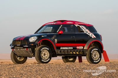 X-Raid Mini Dakar - apresentação