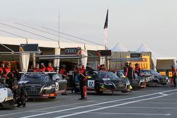 Audi team pit