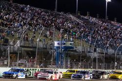 Restart: Ty Dillon and Kyle Larson lead the field