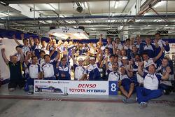 Toyota Racing celebrates victory