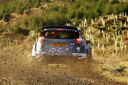 Matthew Wilson and Chris Patterson test the Ford Fiesta R5+
