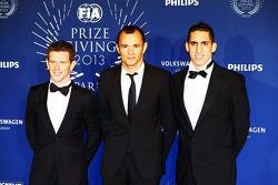 (Da esquerda para direita): Anthony Davidson, Stéphane Sarrazin, Sebastien Buemi, Toyota Racing