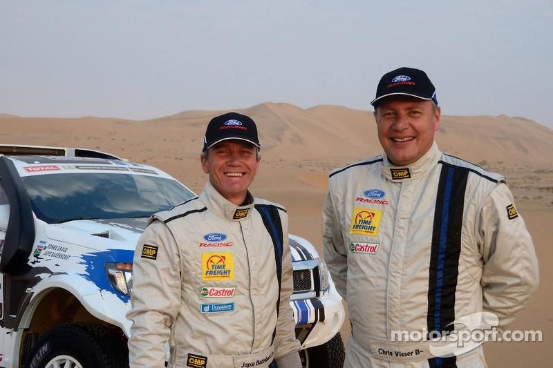 Chris Visser en Japie Badenhorst