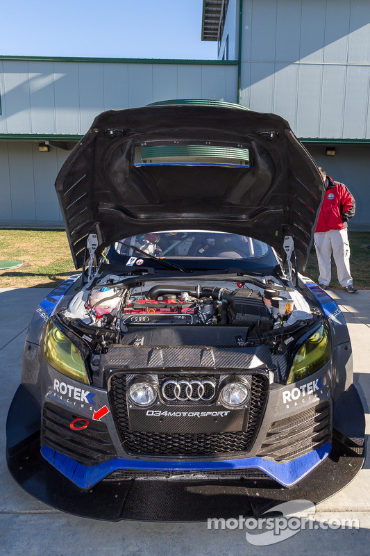 #24 Rotek Racing Audi TT RS: Jeff Altenburg, Robb Holland, Roland Pritzker, Robert Huff