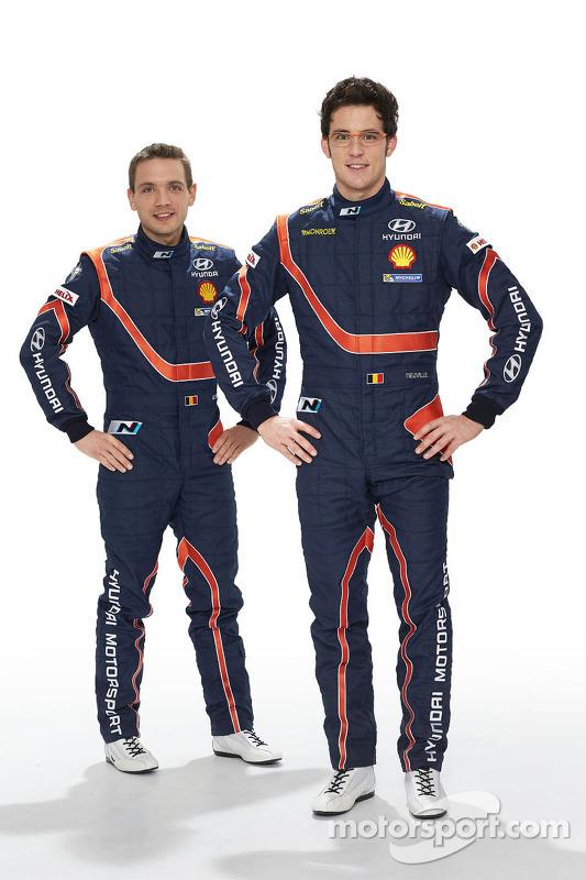 Thierry Neuville e Nicolas Gilsoul