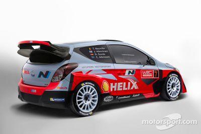 Hyundai i20 WRC launch