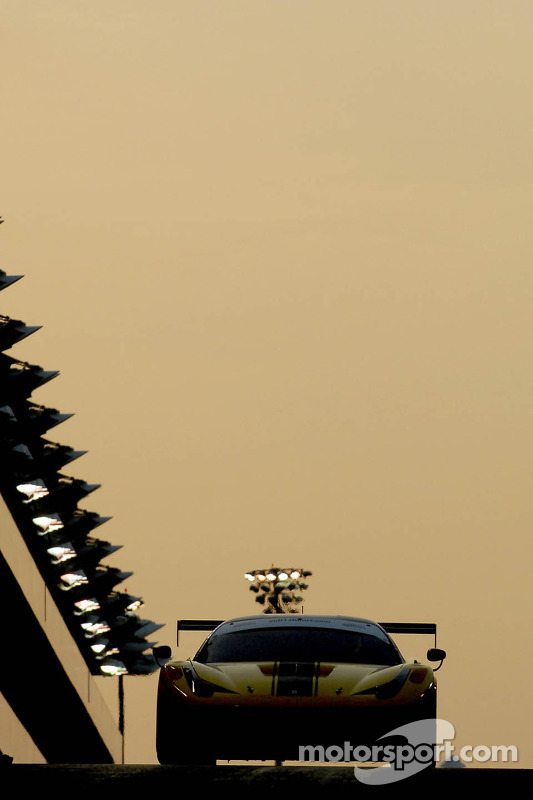 #12 Kessel Racing Ferrari 458 GT3: Kola Aluko, Thomas Kemenater, Giacomo Piccini