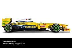 Formel-1-Auto im Retrodesign: Forti 1995