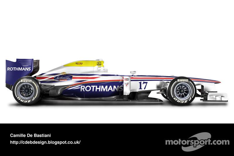 Formel-1-Auto im Retrodesign: March 1981