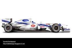 Retro F1 car - Stewart 1997