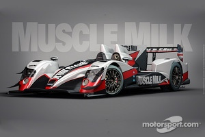 The Muscle Milk Pickett Racing ORECA 03
