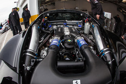 #555 Level 5 Motorsports Ferrari 458 Italia engine
