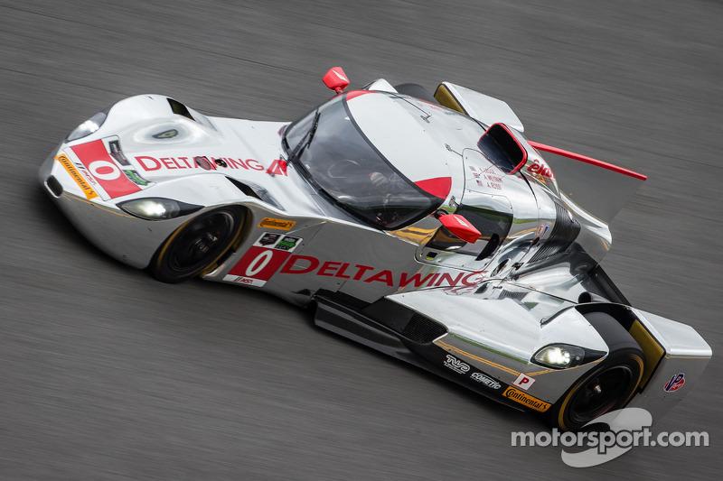 #0 DeltaWing Racing Cars DeltaWing DWC13 Elan: Andy Meyrick, Katherine Legge, Alexander Rossi
