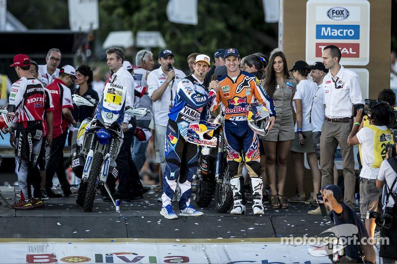 Cyril Despres ve Marc Coma