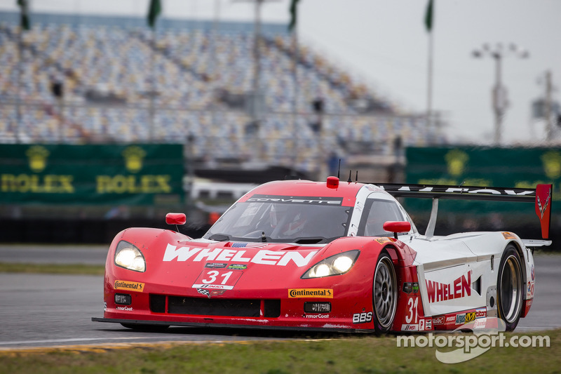 #31 Marsh Racing Corvette DP Chevrolet: Eric Curran, Boris Said