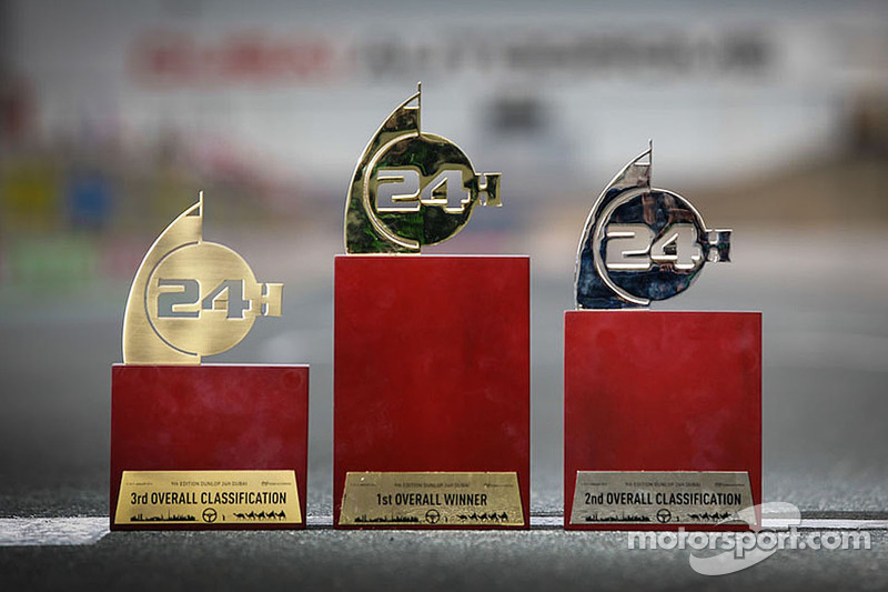 Dubai 24H trophies