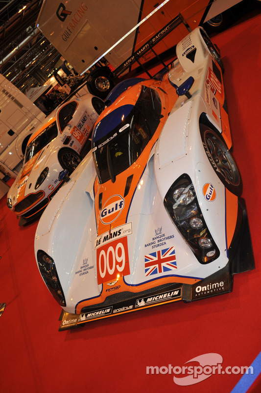 Gulf Racing Aston Martins