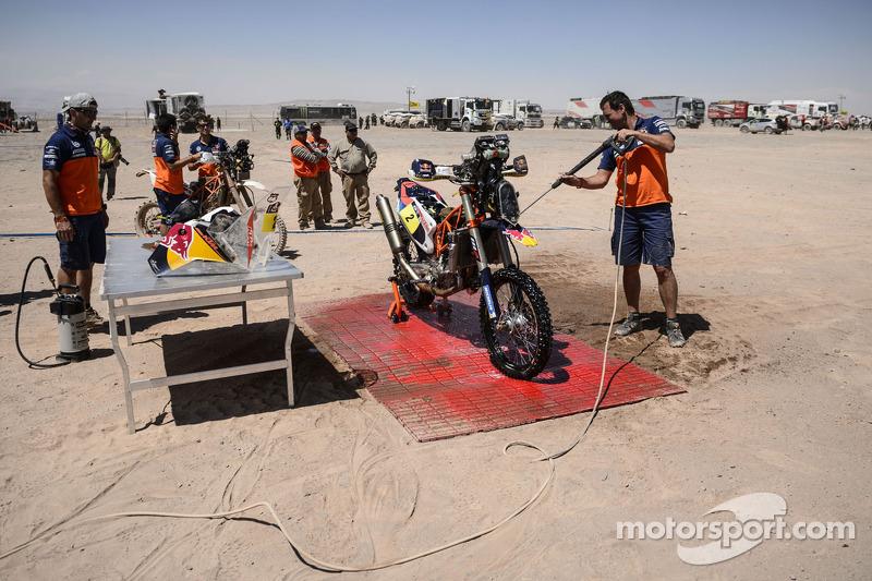 KTM车队机械师