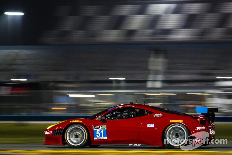 #51 Spirit of Race 法拉利 458 Italia: 马特·格里芬 , 马尔科·乔奇, 米歇尔·鲁格罗
