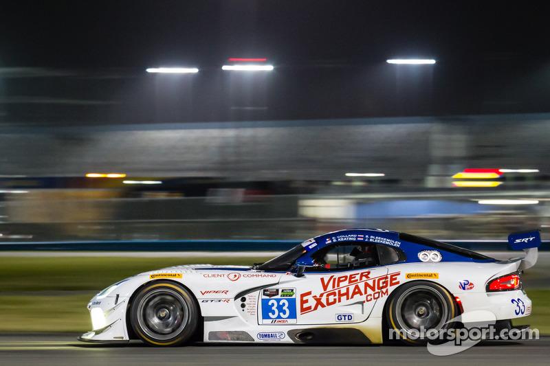 #33 Riley Motorsports SRT 蝰蛇 GT3-R: 本·基廷, 杰伦·布勒克莫伦, 塞巴斯蒂安·布勒克莫伦, 艾曼纽尔·科拉尔