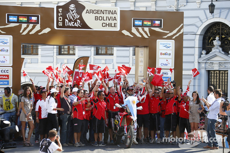 #14 Honda: Javier Pizzolito