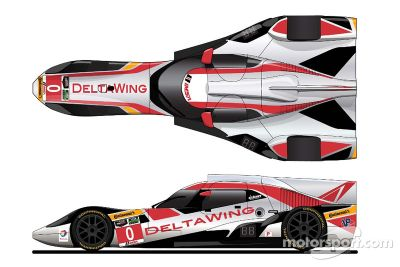 DeltaWing unveils new livery