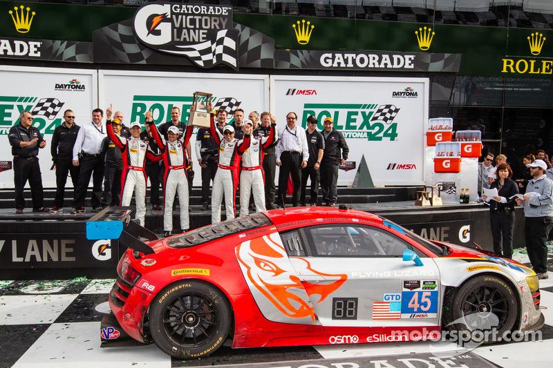 Vittoria GTD corsia: vincitori di classe Nelson Canache, Spencer Pumpelly, Tim Pappas, Markus Winkelhock