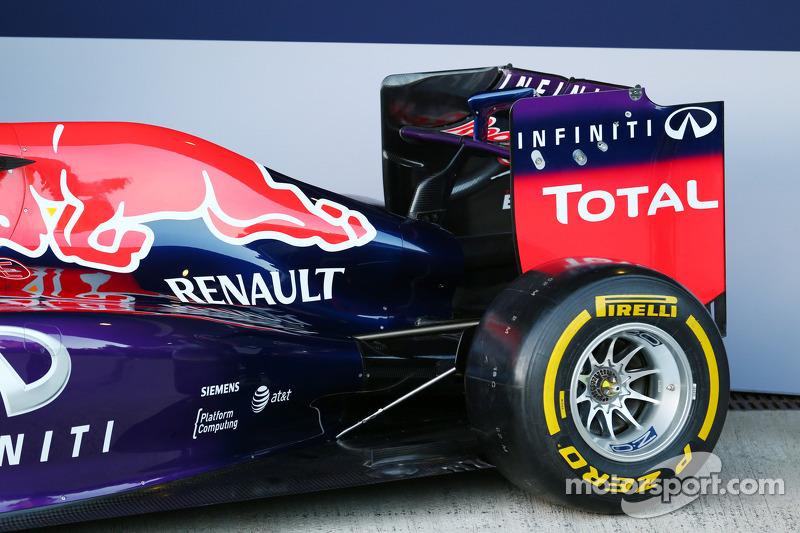 dettaglio Red Bull Racing RB10