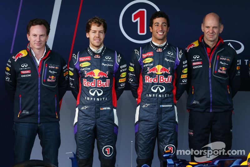 Christian Horner, Red Bull Racing Takım Patronu, Sebastian Vettel, Red Bull Racing, Daniel Ricciardo