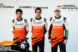 Sergio Pérez, Sahara Force India F1 con Daniel Juncadella, Sahara Force India F1 Team Piloto de Prue