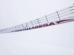 大雪覆盖的塔拉迪加赛道