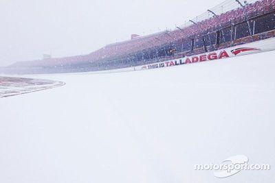 Winter at Talladega