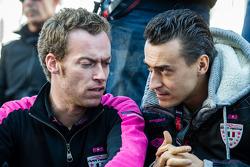 OKA Racing Takım Menajeri Philippe Dumas ve Roman Rusinov