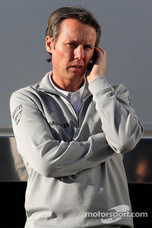 Sam Michael, McLaren diretor esportivo
