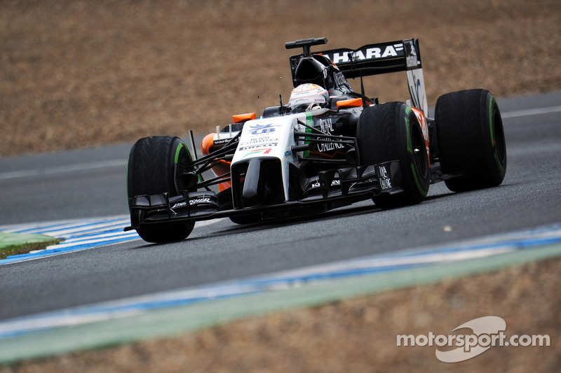 Daniel Juncadella, Sahara Force India F1 VJM07 Test and Reserve Driver