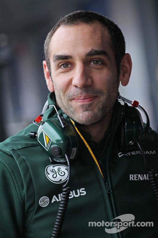 Cyril Abiteboul, chefe de equipe da Caterham F1