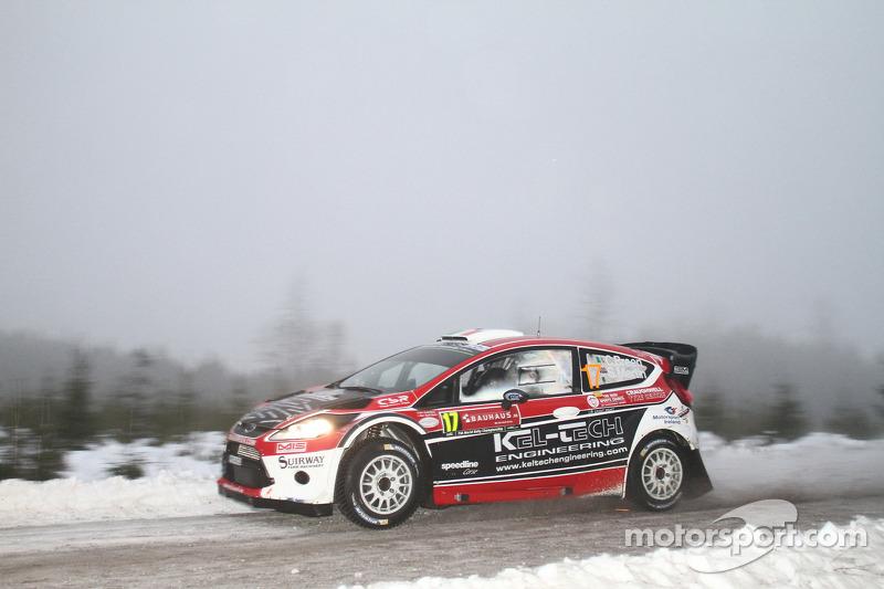 Craig Breen ve Scott Martin, Ford Fiesta WRC