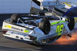 Huge wreck for Parker Kligerman