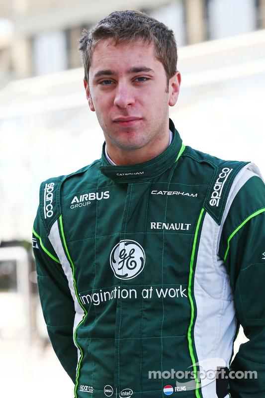 Robin Frijns, Caterham piloto de testes e reserva