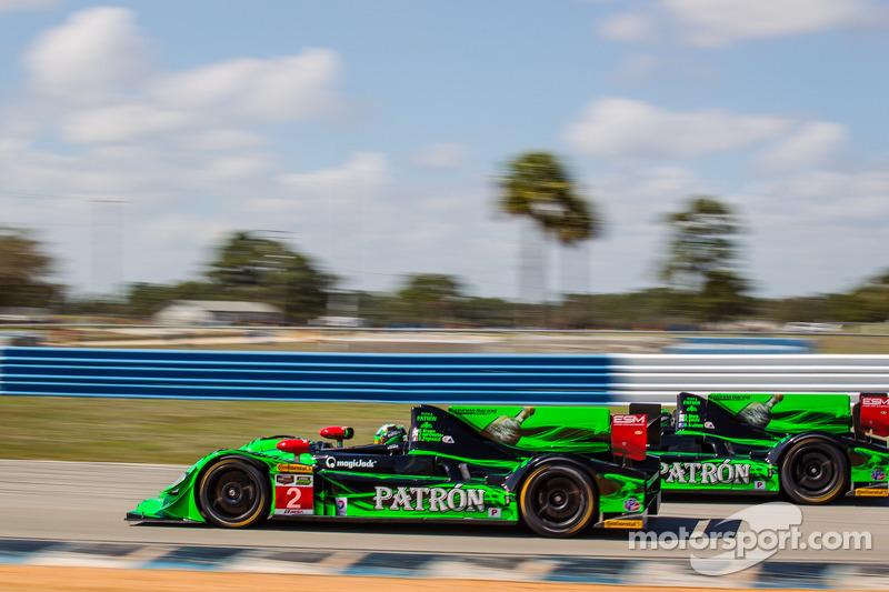 #2 Extreme Speed Motorsports HPD ARX-03b 本田: 埃德·布朗, 约翰内斯·范奥韦尔比克 和 #1 Extreme Speed Motorsports HPD A