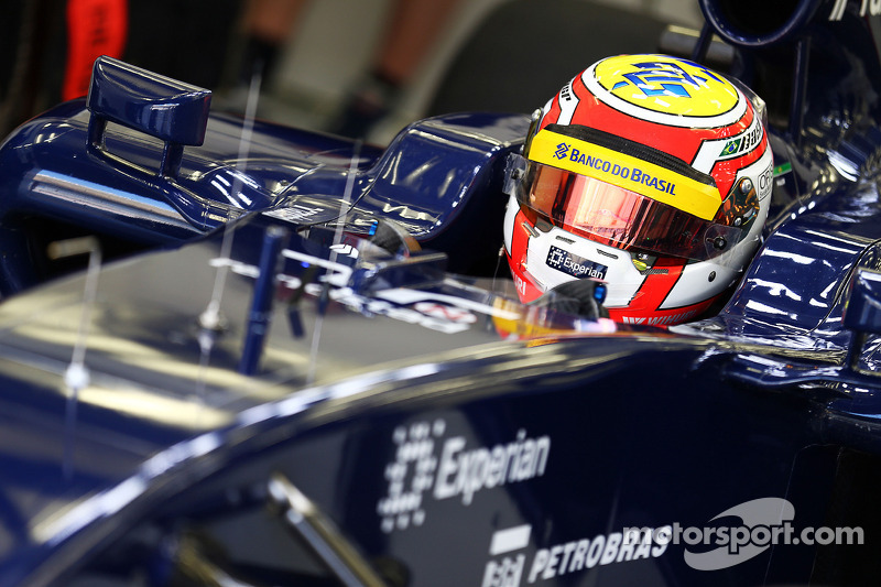 Felipe Nasr, Williams FW36 Test ve Yedek Pilotu
