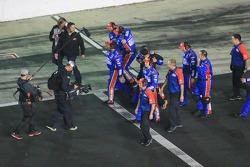 Squadra Hendrick Motorsports festeggia